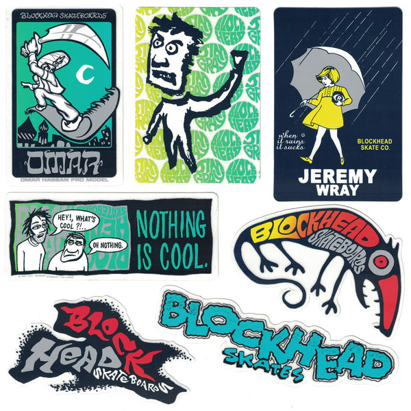 "Blockhead ""Pro Pack"" assorted stickers"