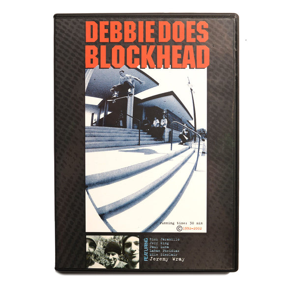 Debbie Does Blockhead/ Recycled Rubbish DVD