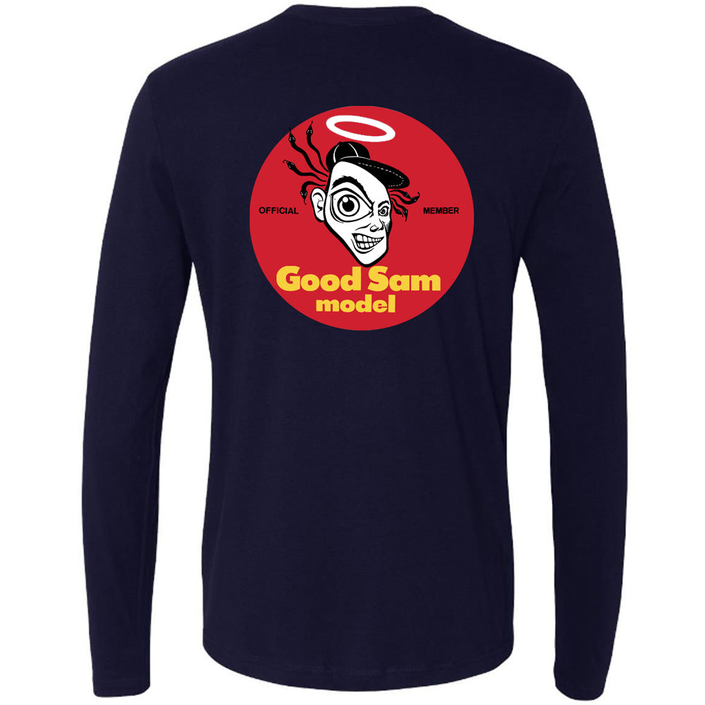 "Sam Cunningham ""GOOD"" Long Sleeve T-shirt"