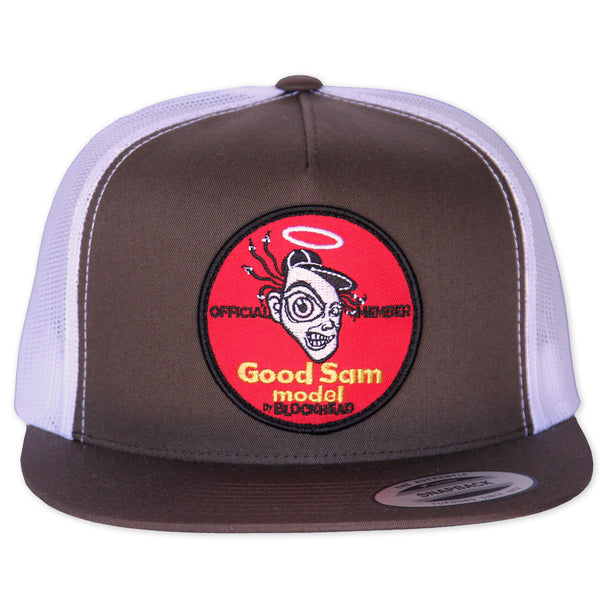 "Sam Cunningham ""GOOD"" snapback trucker hat"