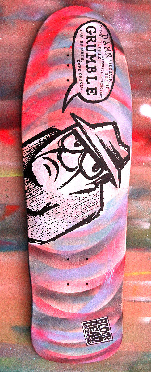 Grumpy Man Custom Spray Painted Streetstyle 3 - SOLD OUT