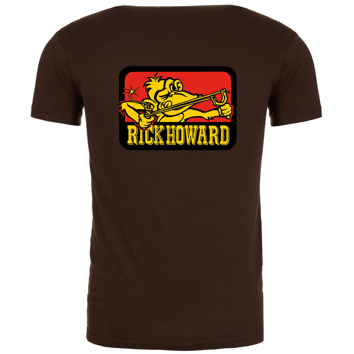 Rick Howard monkey t-shirts - in stock now!