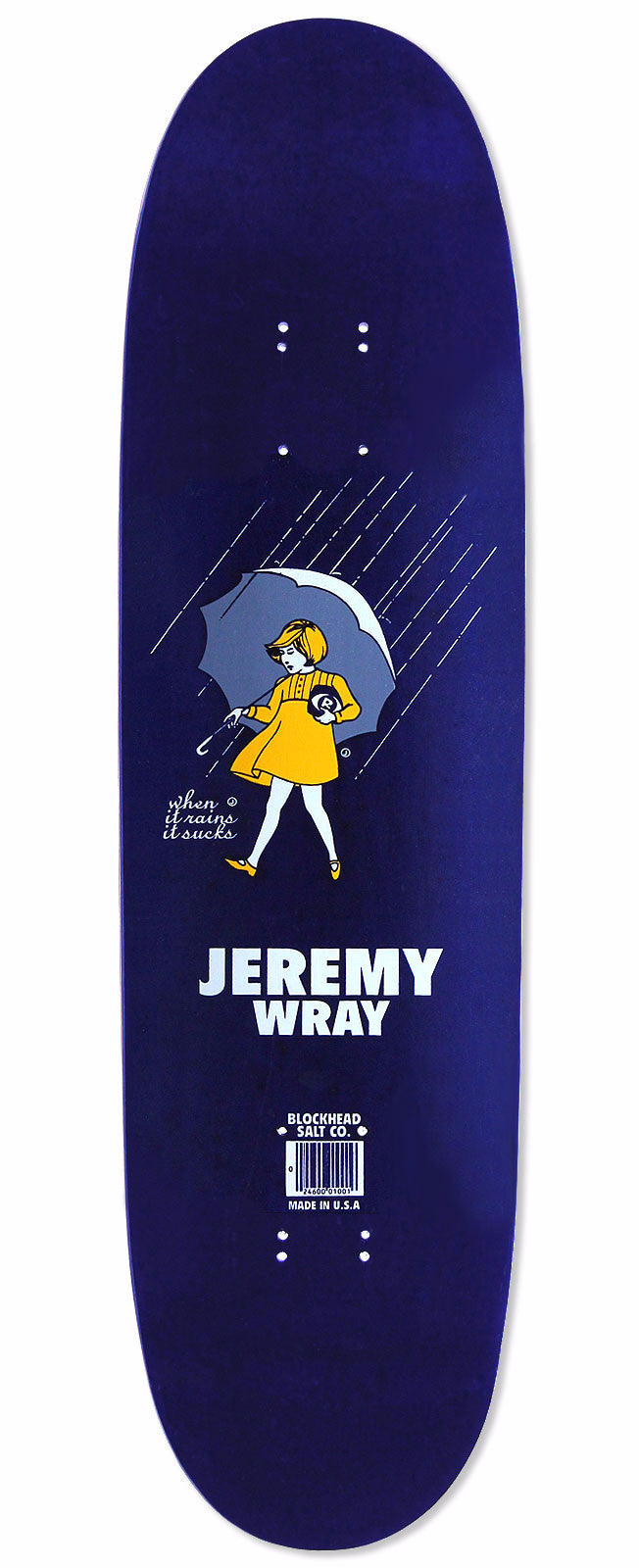 "Jeremy Wray ""when it rains it sucks"" Signed & #'d Reissue,  Pre-order"