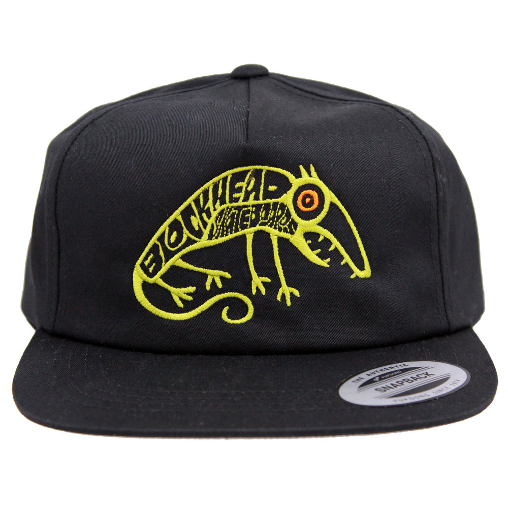Skate Rat Hat - 5-panel unstructured - Black or Khaki
