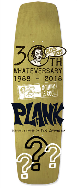 "Ron Cameron's ""SKATEPLANK"" 30 years of Nothing is Cool! (includes t-shirt) Pre-Order Now!"
