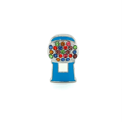 Blue Bubblegum Machine Jewel - American Jewel - yummy gummy