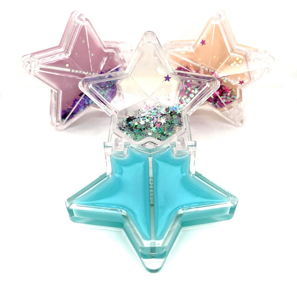 Glitter Star Trio Lip Balm Set - American Jewel - yummy gummy
