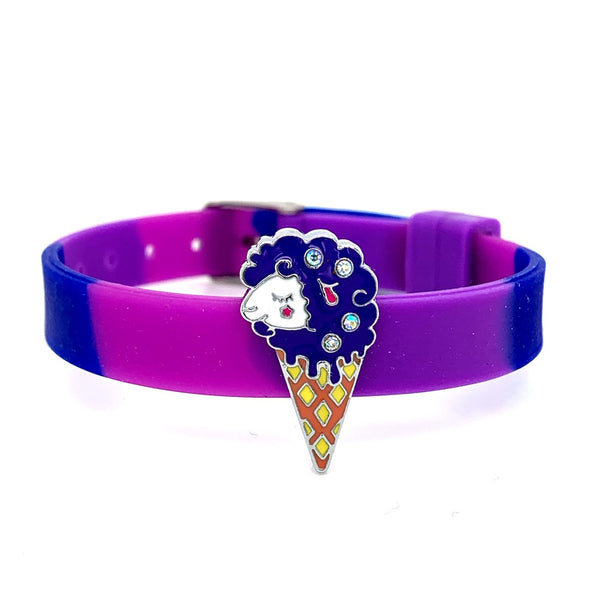 Single Yummy Gummy Sheep Ice Cream Bracelet - American Jewel - yummy gummy