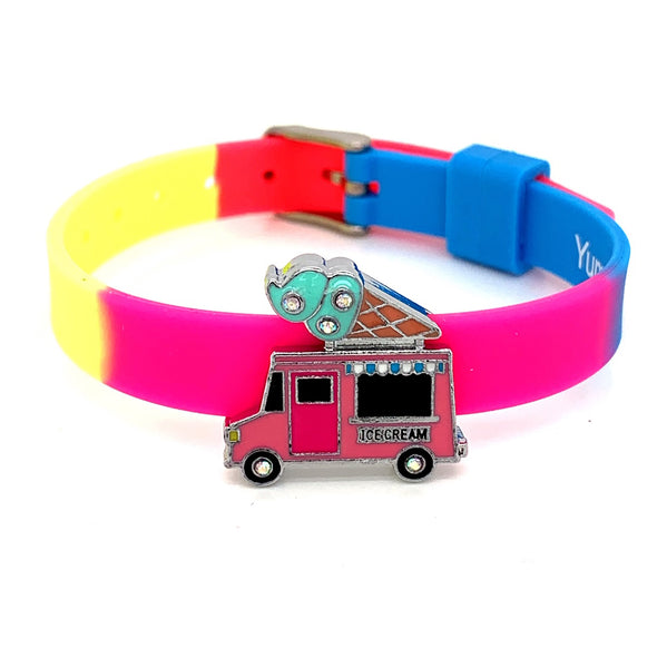 Single Yummy Gummy Ice Cream Truck Bracelet - American Jewel - yummy gummy