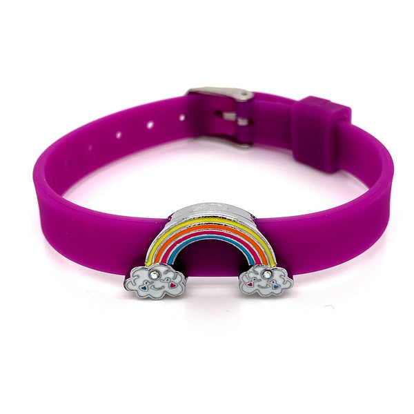 Single Yummy Gummy Rainbow Bracelet - American Jewel - yummy gummy