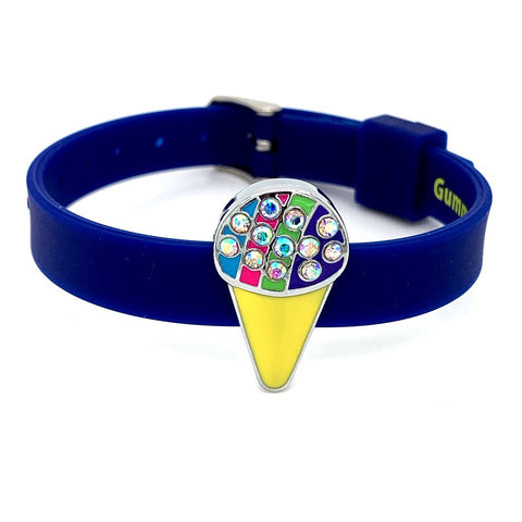 Single Yummy Gummy Snow Cone Bracelet - American Jewel - yummy gummy