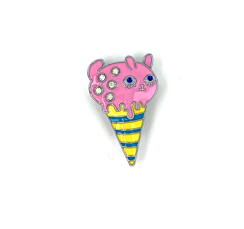 Pink Piggy Ice Cream Jewel - American Jewel - yummy gummy