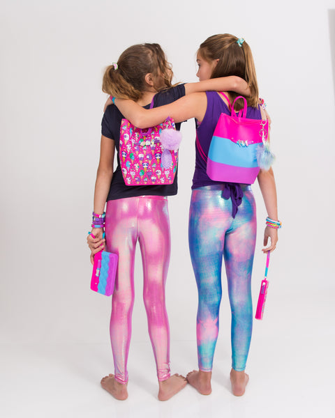 Tie Dye Yummy Gummy Zip Backpack - American Jewel - yummy gummy