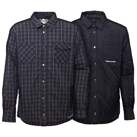Cinder Reversible Flannel