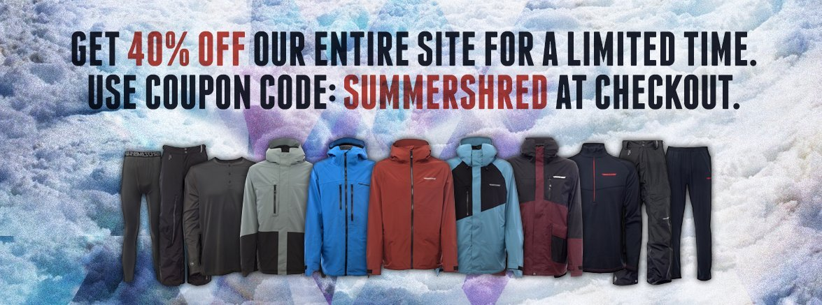 Summer Shred Sale
