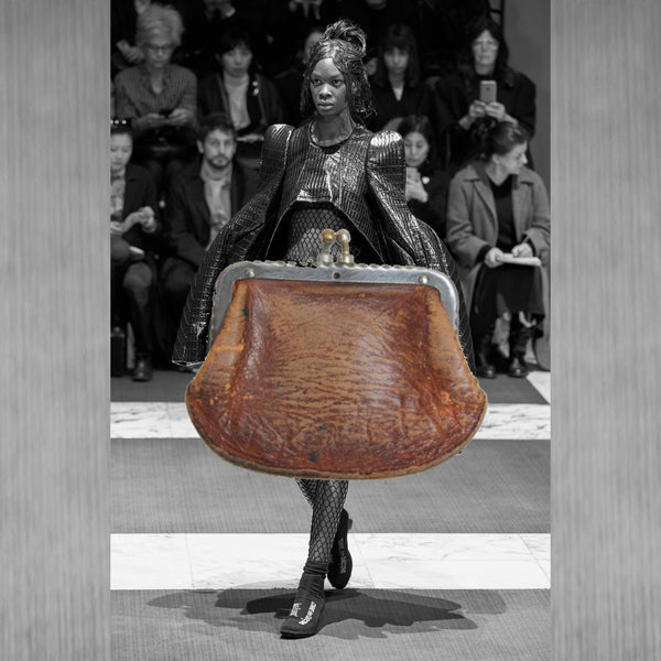 Last night I dreamed I made a giant coin purse into a skirt.