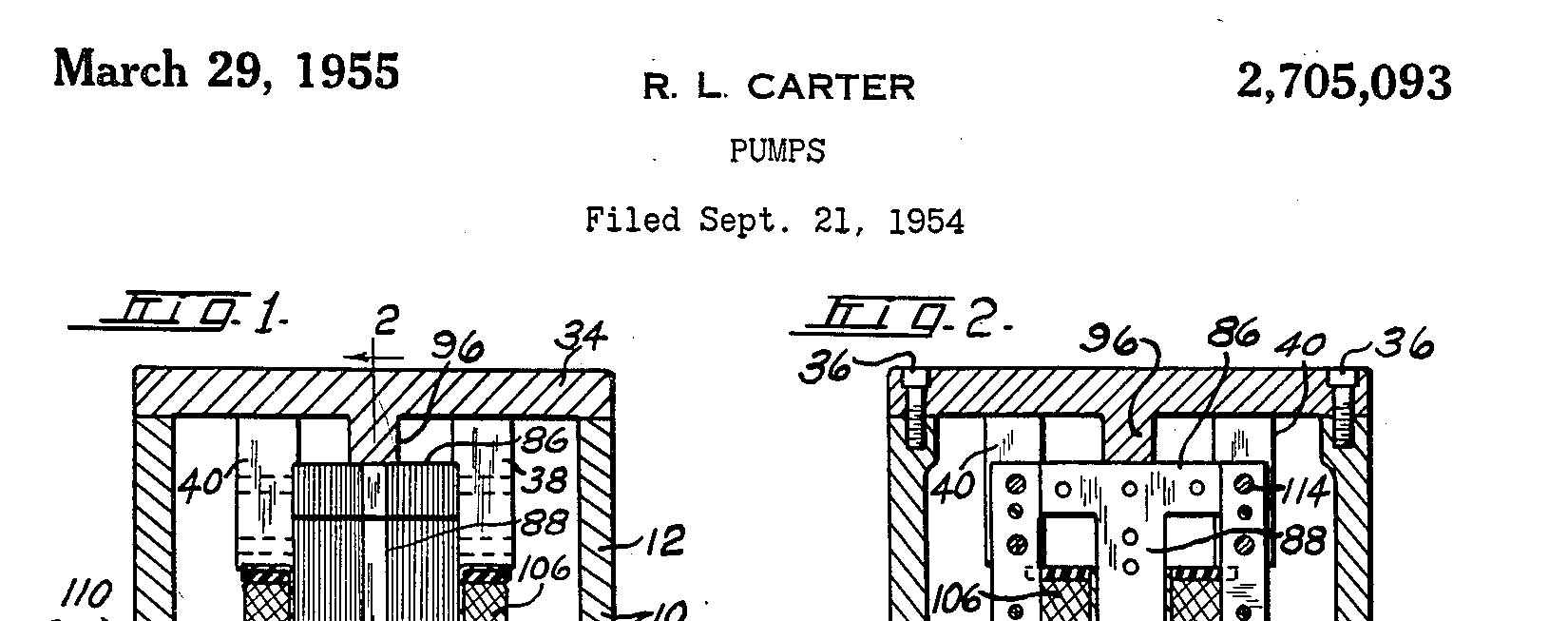 ray l carter patent