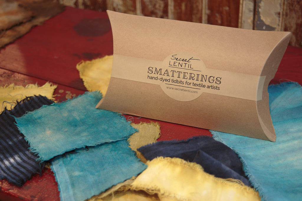 smatterings: hand dyed tidbits for textile artists