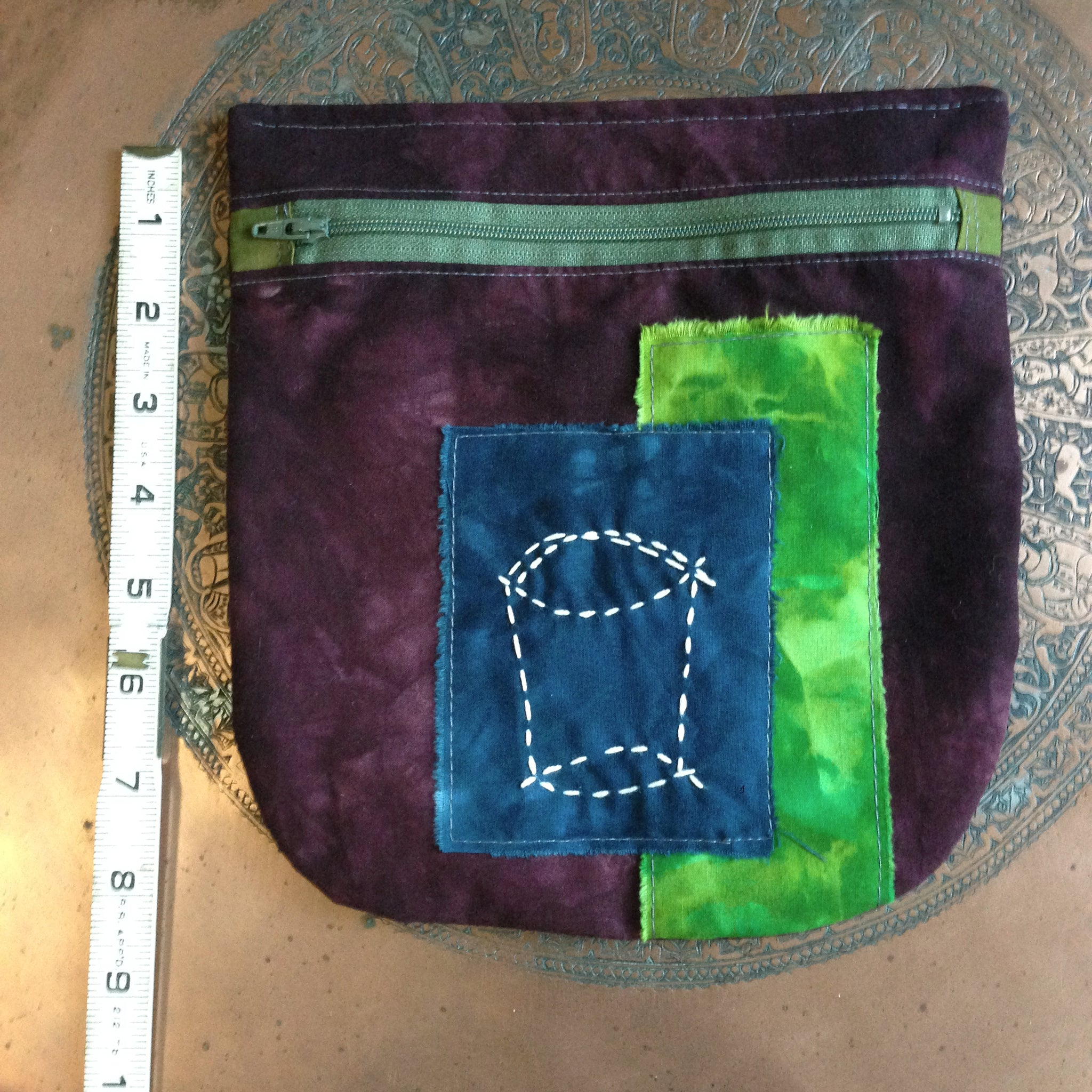 crammit pouch (plum, navy, olive, grass, lime)