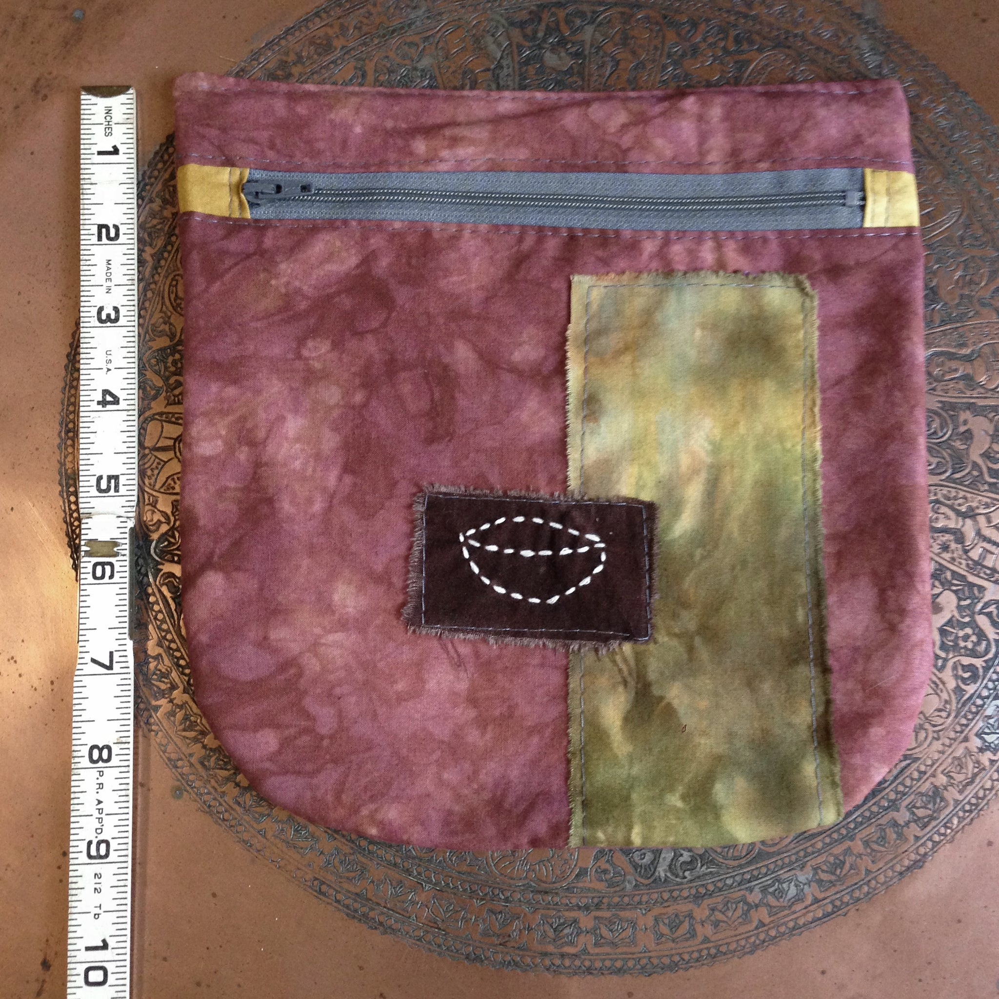 crammit pouch (rosewood, brown, gray, mustard, olive)