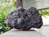 Large Purple, Green and Gold Lava Rock