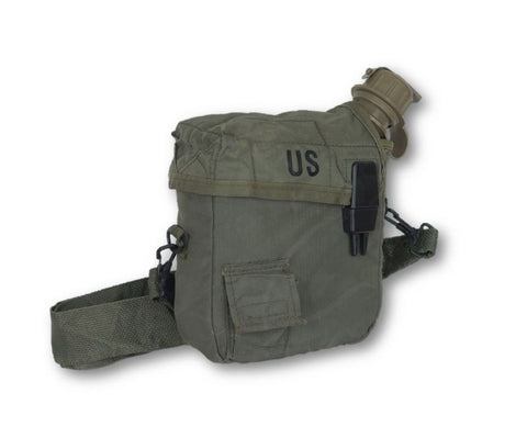 2 Quart Canteen/Cover OD, New