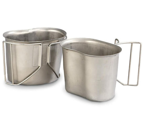 USGI Stainless Steel Canteen Cup