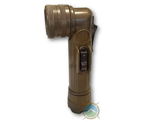 Army Angle Head Flashlight