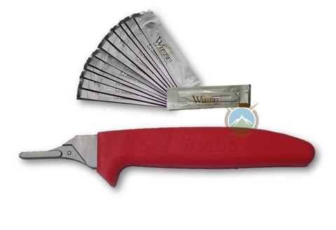 Wiebe Wicked Sharp Fixed Blade Scalpel Knife
