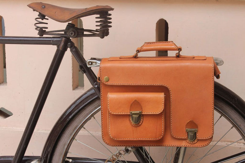 Leather Bicycle Bags
