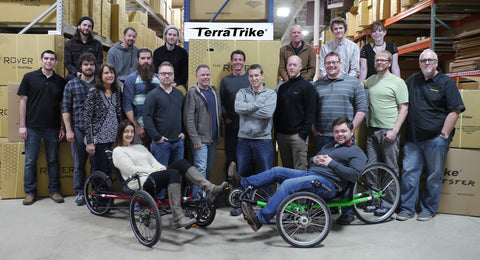 TerraTrike Staff Photo