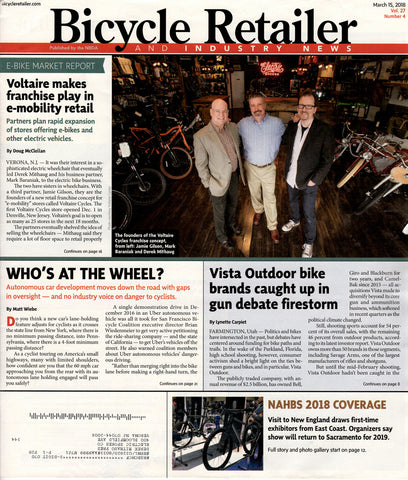 Bicycle Retailer - Electric Spokes Co Voltaire Cycles Franchise