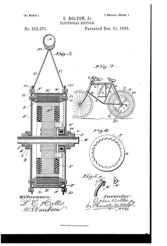 Electric Bike Patent