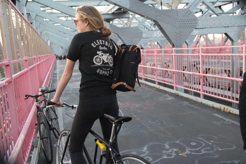 Electric Spokes t-shirts in Brooklyn