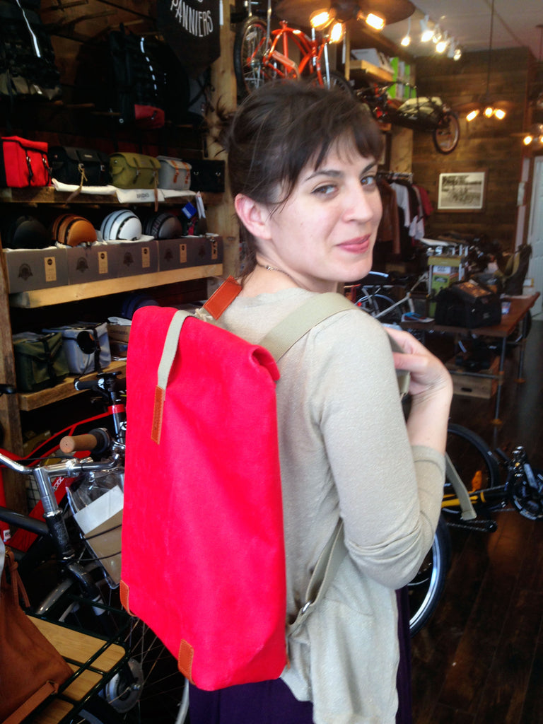 Customer fashioning Brooks Pickwick Knapsack
