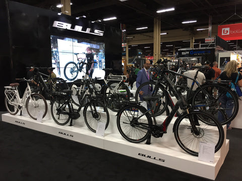 Bulls Electric Bikes at InterBike 2017 from Voltaire Cycles