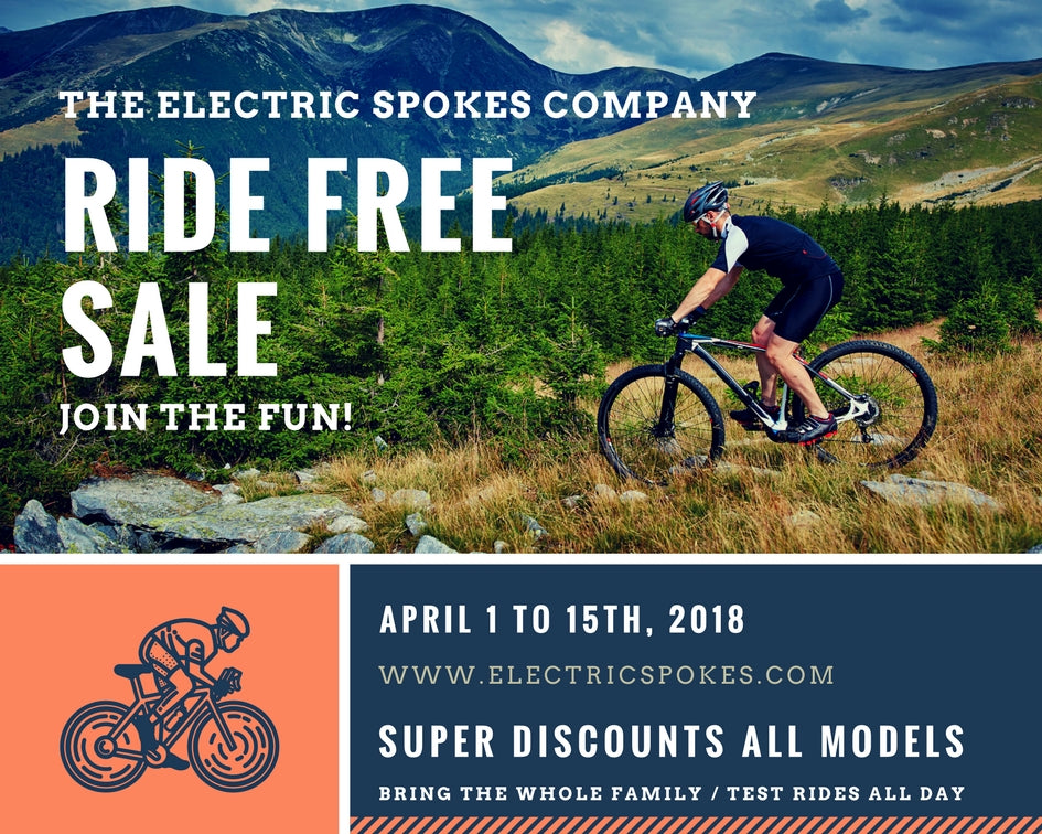 Electric Spokes Ride Free Sale