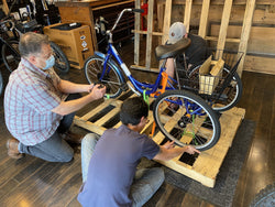 $250 Electric Trike Shipping - Fully Assembled (Please read full description, exclusions, and limitations in description below)-Shipping Fees-The Electric Spokes Company-Voltaire Cycles of Verona