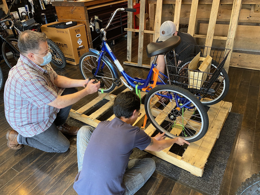 $300 Electric Trike Shipping - Fully Assembled (Please read full description, exclusions, and limitations in description below)-Shipping Fees-Voltaire Cycles Verona-Voltaire Cycles of Verona