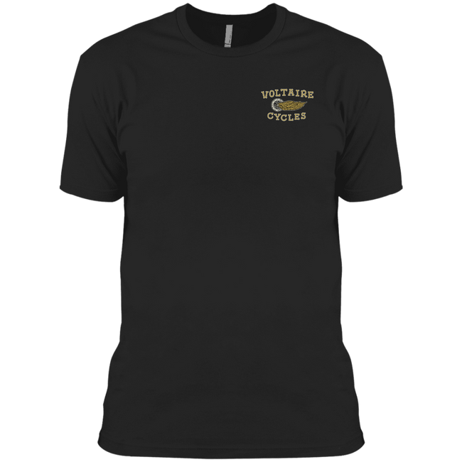 3600A Next Level Men's Made in USA Cotton T-Shirt-Apparel-CustomCat-Voltaire Cycles of Verona