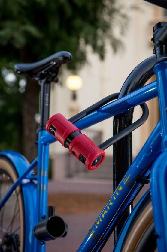 ABUS 440A Bicycle Alarm U-Lock-Bicycle Locks-Abus-Voltaire Cycles of Verona