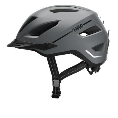 Abus Pedelec 2.0 E-Bike Helmet-Helmets-Abus-Concrete Grey-Medium (52-57cm)-Voltaire Cycles of Verona
