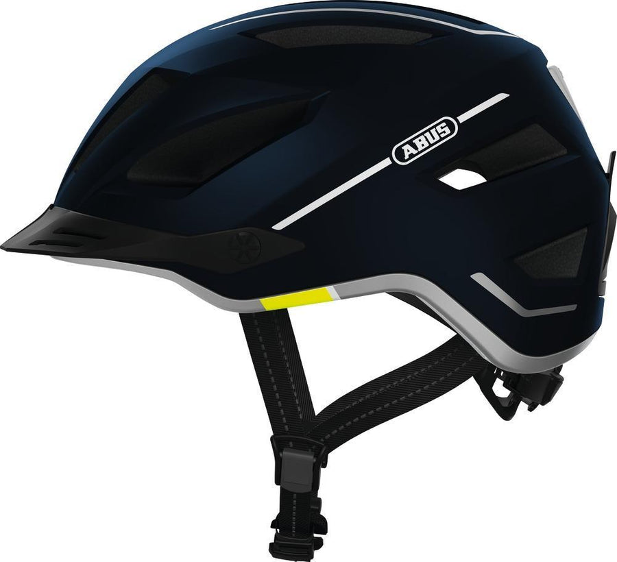 Abus Pedelec 2.0 E-Bike Helmet-Helmets-Abus-Velvet Black-Medium (52-57cm)-Voltaire Cycles of Verona