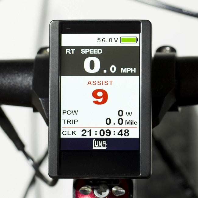 Bafang Full Color Display DPC-14 FOR THE BBS02 AND BBSHD-E-Bike Parts-LunaCycle-Voltaire Cycles of Verona