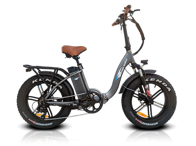 Bagi Bike B10 Bold Plus Fat Tire - Folding E-Bike-Electric Bicycle-Bagibike-Space Gray-Voltaire Cycles of Verona