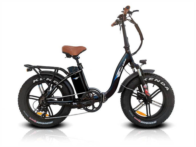 Bagi Bike B10 Fat Tire - Folding E-Bike-Electric Bicycle-Bagibike-Voltaire Cycles of Verona