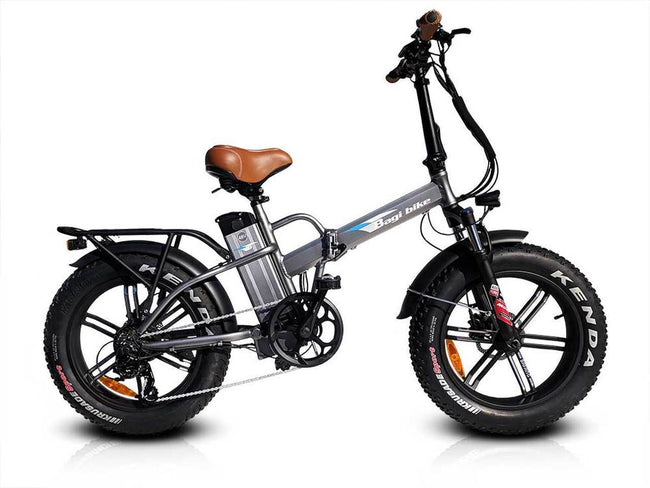 Bagi Bike B20 - Fat Tire Folding E-Bike-Electric Bicycle-Bagibike-Space Gray-Voltaire Cycles of Verona