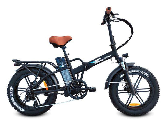 Bagi Bike B20 Hero Plus - Fat Tire Folding E-Bike-Electric Bicycle-Bagibike-Flat Black-Voltaire Cycles of Verona