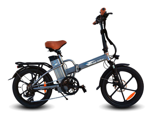 Bagi Bike B20 Street - Folding E-Bike-Electric Bicycle-Bagibike-Space Gray-Voltaire Cycles of Verona