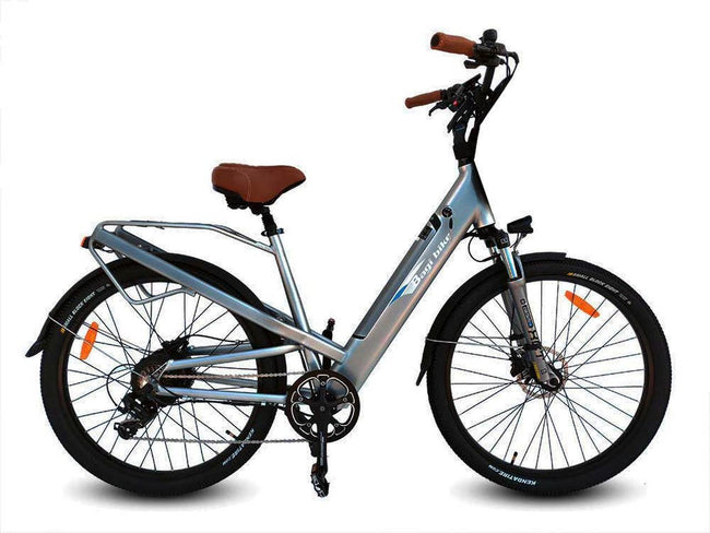 Bagi Bike B27 Comfort Cruiser E-Bike-Electric Bicycle-Bagibike-Space Gray-Voltaire Cycles of Verona